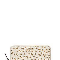Kate Spade Cedar Street Confetti Dot Lacey Bridal Cream ONE