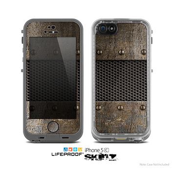 The Bolted Metal Sheets Skin for the Apple iPhone 5c LifeProof Case