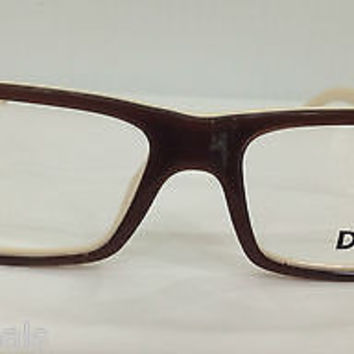NEW AUTHENTIC D&G 1210 COL 1866 BROWN EYEGLASSES FRAME BY DOLCE & GABBANA