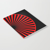 black and red Notebook by netzauge
