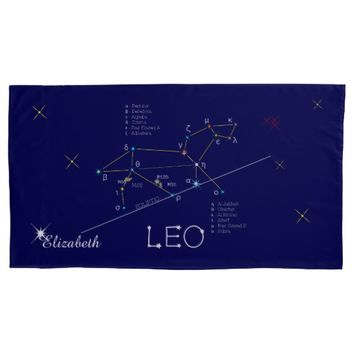 Constellation LEO unique, elegant Pillow Case