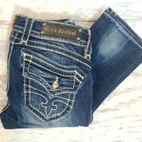 ROCK REVIVAL SCARLETT T16 STRAIGHT JEANS
