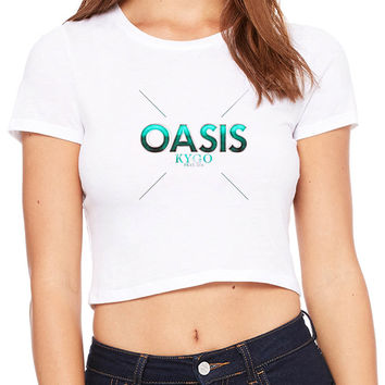 Kygo Oasis Feat Sia Crop T-shirt