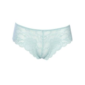 Sexy Soft Textured Lace High Leg Plus Size Tanga