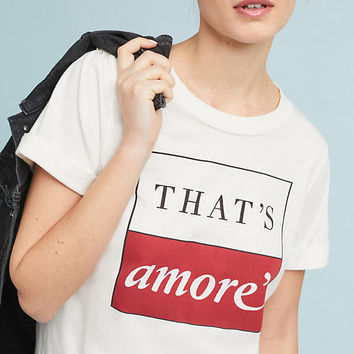Sol Angeles That's Amore Graphic Tee
