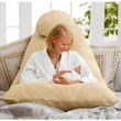 Today's Mom Cozy Comfort Pregnancy Pillow, Espresso
