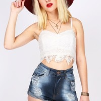 Flower Bomb Crop Top | Cute Tops at Pink Ice