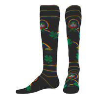 Pot o Gold LIGHT-WEIGHT COMPRESSION OVER-THE-CALF SOCKS
