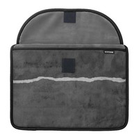 Dirty ripped paper sleeve for MacBook pro