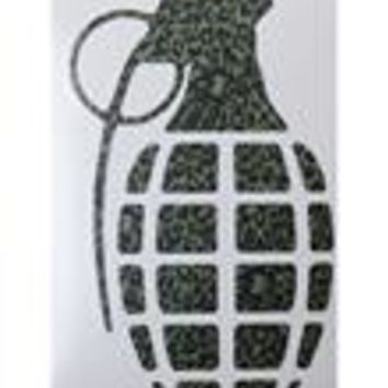 Grenade 8.5in Die Cut Sticker