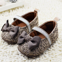 Cute Princess Infant Girl Shoes With Bowknot lovely Children's Footwear Baby Girls Newborn Toddler Soft Soled Shoes Zapatos Nina