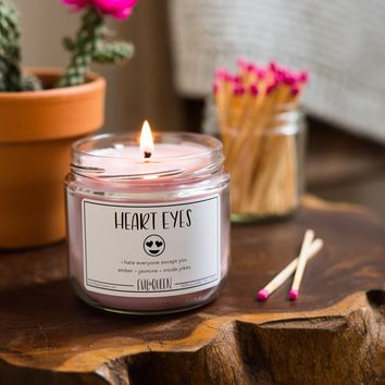 Soy Candle - Heart Eyes