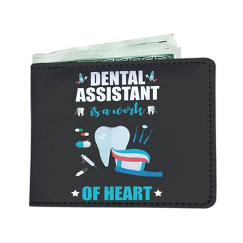 'Dental Assistant is a Work of Heart' Men's Wallet