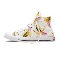 Converse Print Banana All Star Sneakers for Unisex Hight tops sports Leisure Comfort Shoes