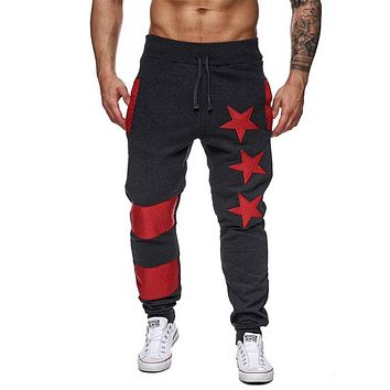 Mens Joggers Trousers New High Quality Pants Printed Letters Convergent Sweatpants Stick a skin personality slacks Pant clothing