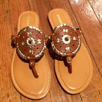 Abigail Sandals - Brown
