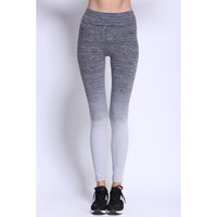 Chic Women's Gradient Color Skinny Leggings