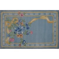 Fun Rugs Supreme Collection Flower Ribbon Area Rug