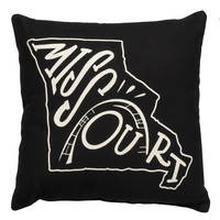 Missouri Throw Pillow