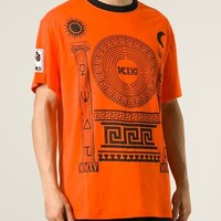 Ktz Greek Ornament Print T-shirt - Di Pierro - Farfetch.com