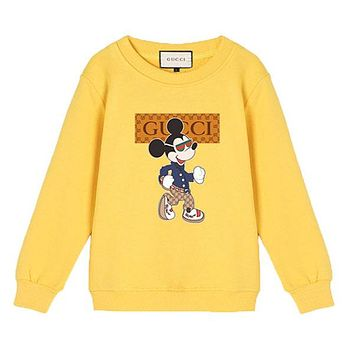 GUCCI Children Girls Boys Casual Top Sweater Pullover Sweatshirt