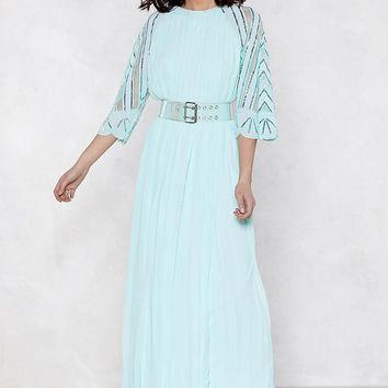 Bead Our Guest Maxi Dress
