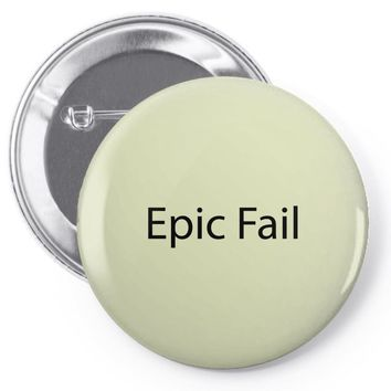 epic fail Pin-back button