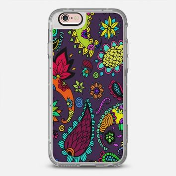 Purple Botanical iPhone 6s case by DuckyB | Casetify