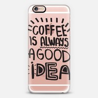 Coffee is always a good idea iPhone 6s case by Vasare Nar | Casetify