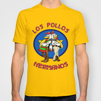 Los Pollos Hermanos. Breaking Bad. T-shirt by WaXaVeJu