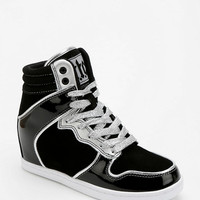 Cute To The Core Metallic Hidden Wedge High-Top Sneaker - Urban Outfitters