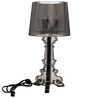 French Petit Table Lamp in Black