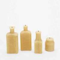 Fresh Pastry Stand Bottle Candle Set- Yellow One