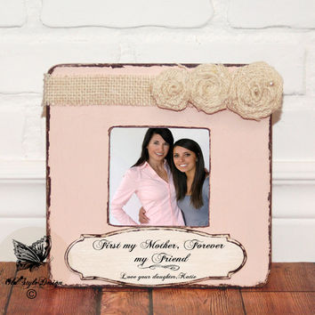 Mother's Day Gift MOM Personalized Picture Frame Gift for Mom from Daughter Personalized Frame Gift for Mother Gift MUM Mother's day Custom