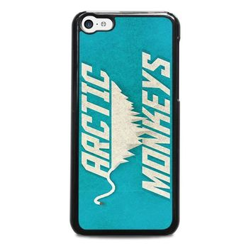 arctic monkeys blue iphone 5c case cover  number 1