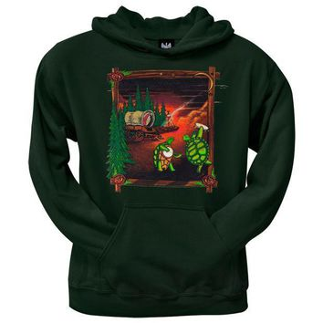 PEAPGQ9 Grateful Dead - Covered Wagon Forest Pullover Hoodie