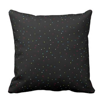 Abstract Art Bright Colors Spots Cushion