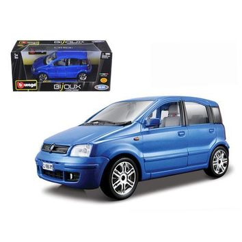 Fiat Nuova Panda Blue 1/24 Diecast Model Car by Bburago