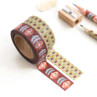 Pattern Masking Tape Set 08