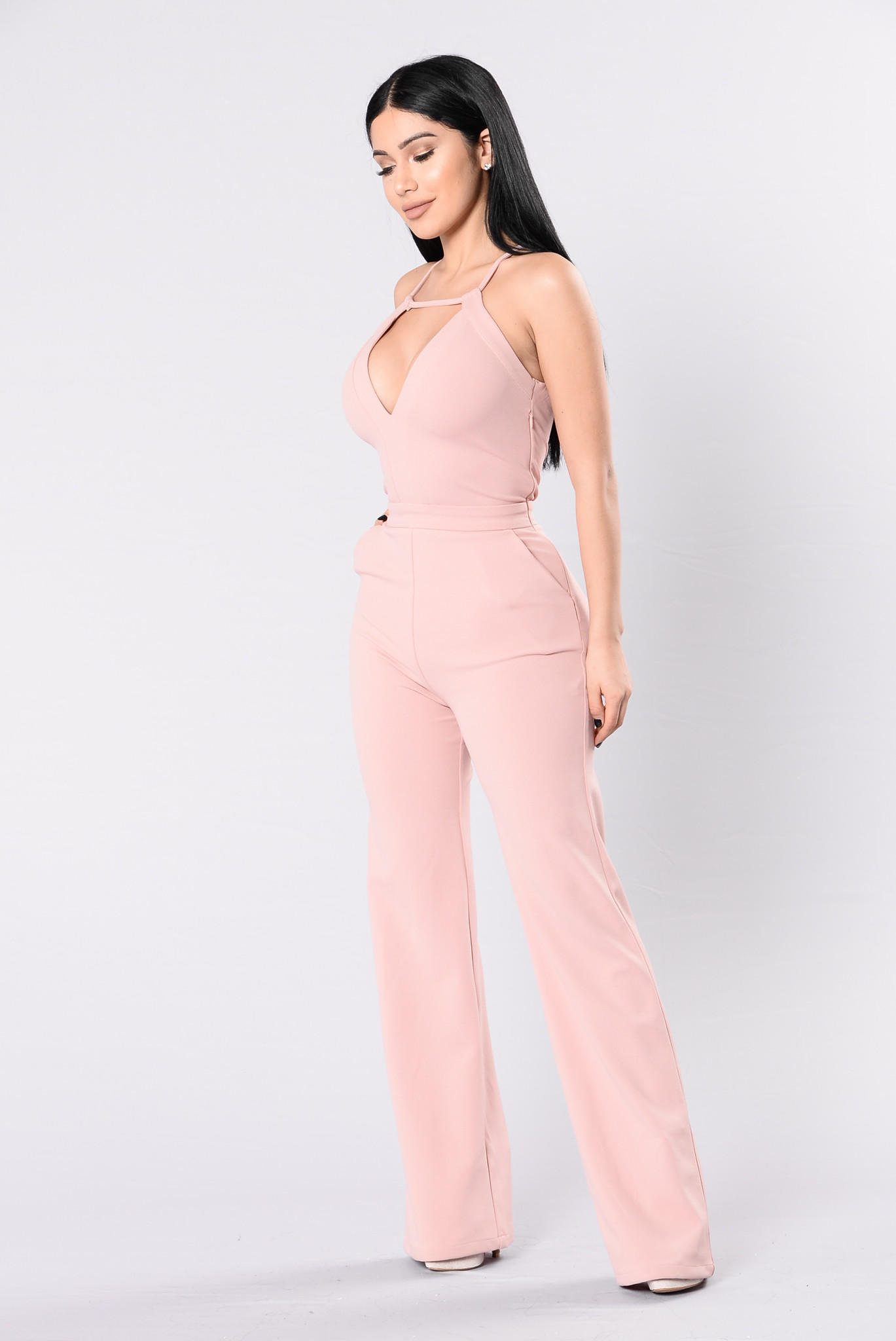 adab4e27e04 Well Dressed Jumpsuit - Pink from Fashion Nova