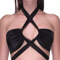 Criss-Cross Bandeau : Girls Rave Clothing from RaveReady