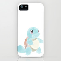 POKEMON : SQUIRTLE iPhone & iPod Case by Marco Lilliu
