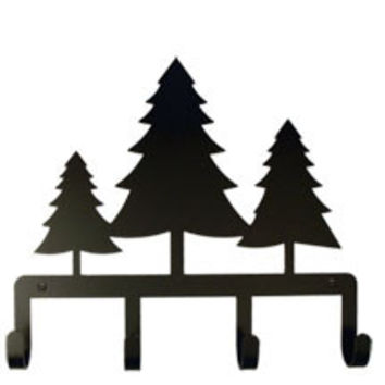 Pine Trees - Key Holder