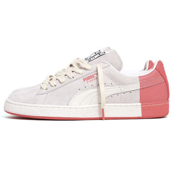 Staple x PUMA Suede Sneaker Star White / Georgia Peach