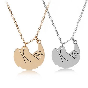 Sloth Lover's Necklace