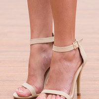 Step In Style Heel, Nude