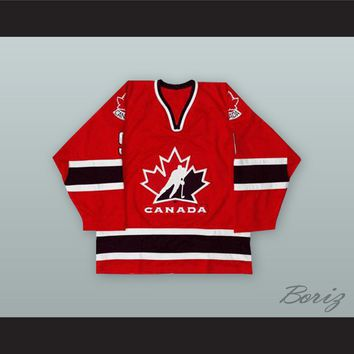 Sidney Crosby 9 Canada Red Hockey Jersey