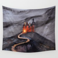 Track 24: Castle hill Wall Tapestry by Viviana Gonzalez