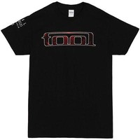 Tool Red Pattern Logo Rock Band Official Licensed Adult Unisex T-Shirts - Black