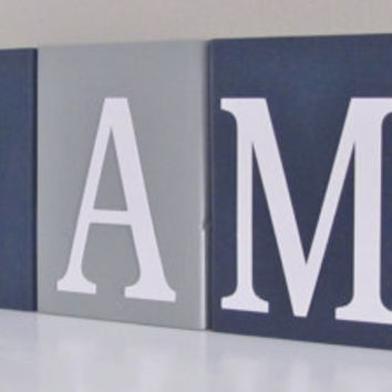 Construction Letters, Name Blocks, Nursery Letters, Baby Boy Nursery, Name Blocks, Baby Boy, Baby Names, Baby Gift, Baby Shower, Photo Prop